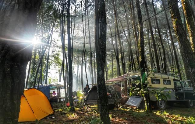 Camping di Gunung Bunder, Kaki Halimun Salak Bogor - Ajak Anak