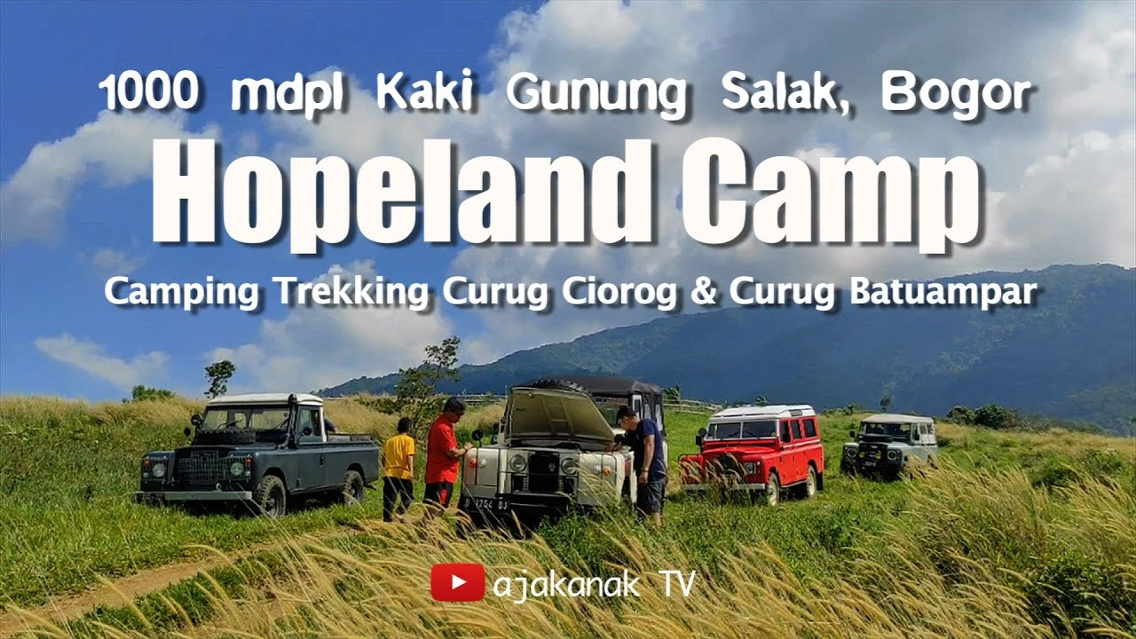 Camping dan Trekking di Hopeland Camp Cijeruk Bogor